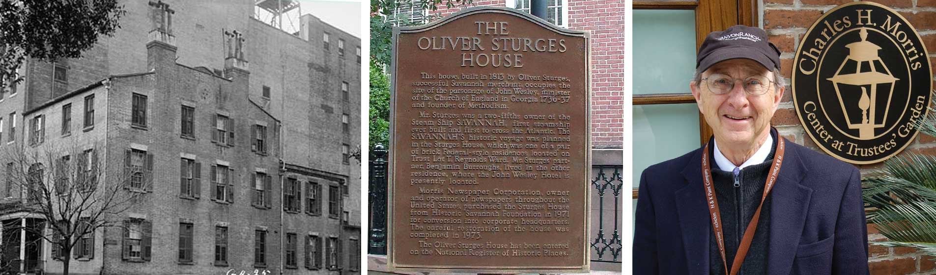 Mr. Charles H Morris and The Oliver Sturges House